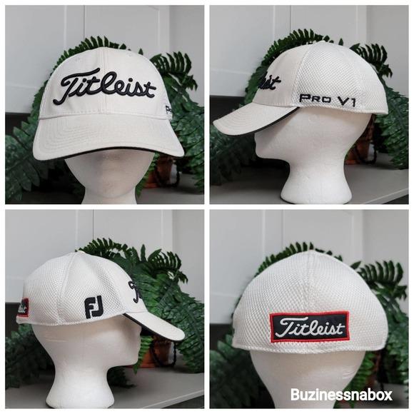 New Era Titleist Footjoy Pro V1 Golf Hat